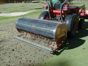 Deep Tine Aerification